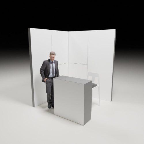 Stoiska targowe - 2x2m