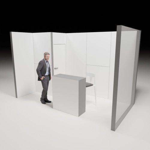 Stoiska targowe - 2x4m